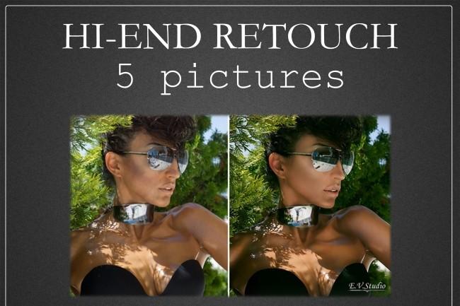 Hi End Retouch 5 pictures 3 - kwork.com