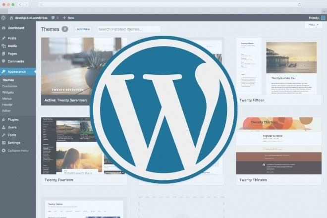 I will build website on Wordpress for you 1 - kwork.com