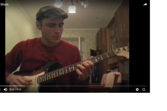 Guitar lessons via Skype 3 - kwork.com