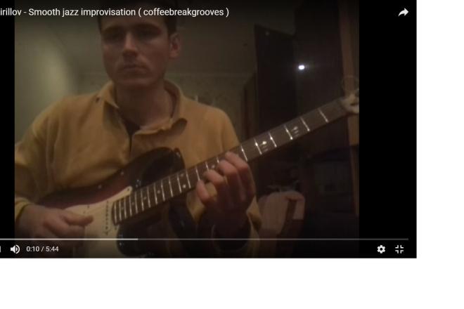 Guitar lessons via Skype 4 - kwork.com