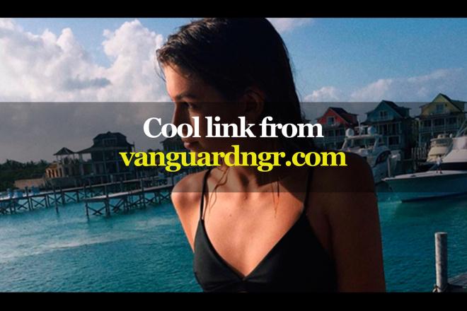 Cool link from vanguardngr.com 1 - kwork.com