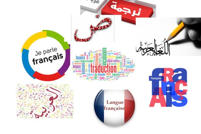 Translation arabic french 1 - kwork.com