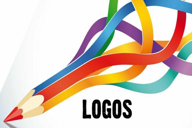 I can make quality modern logo 4 - kwork.com