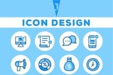 I will create a modern logo for you business 20 - kwork.com