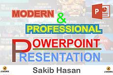 Make a presentation 23 - kwork.com