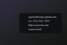 Business Cards 23 - kwork.com