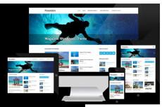 Landing page on cms Joomla 30 - kwork.com