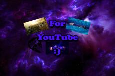 I will make a quality design channel YouTube 32 - kwork.com