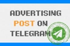 500 subscribers to Telegram channel 9 - kwork.com