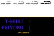 T-Shirts & Merchandise 3 - kwork.com