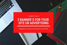 Banner design for your site 24 - kwork.com