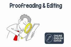 Editing & Proofreading 6 - kwork.com