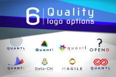 One 2D Logo 28 - kwork.com